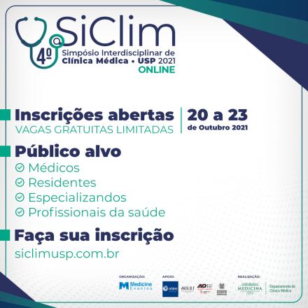 4º Simpósio Interdisciplinar de Clínica Médica