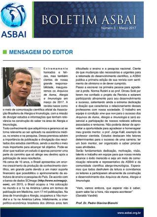 Boletim ASBAI Edição Nº 3