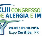 Certificados XLIII Congresso Brasileiro de Alergia e Imunologia