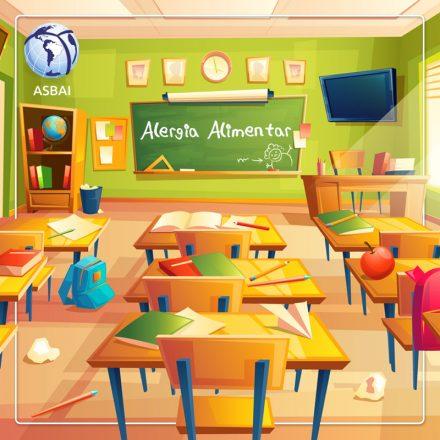 A escola do seu filho está preparada para receber uma criança com alergia alimentar?