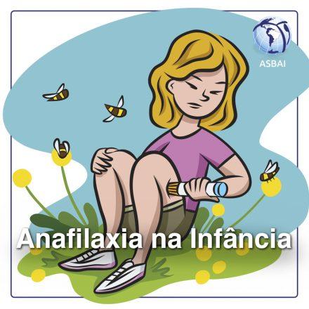 Anafilaxia na infância: a informação precisa chegar aos pediatras e equipes socorristas