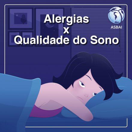 Você sabia que alergia tem tudo a ver com a qualidade do sono?