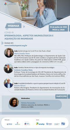 Webinar Covid-19 | Epidemiologia, Aspectos Imunológicos e Aquisição de Imunidade