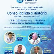 17-11-2020 às 19h30 – Comemore conosco o 49º aniversário de fundação da ASBAI
