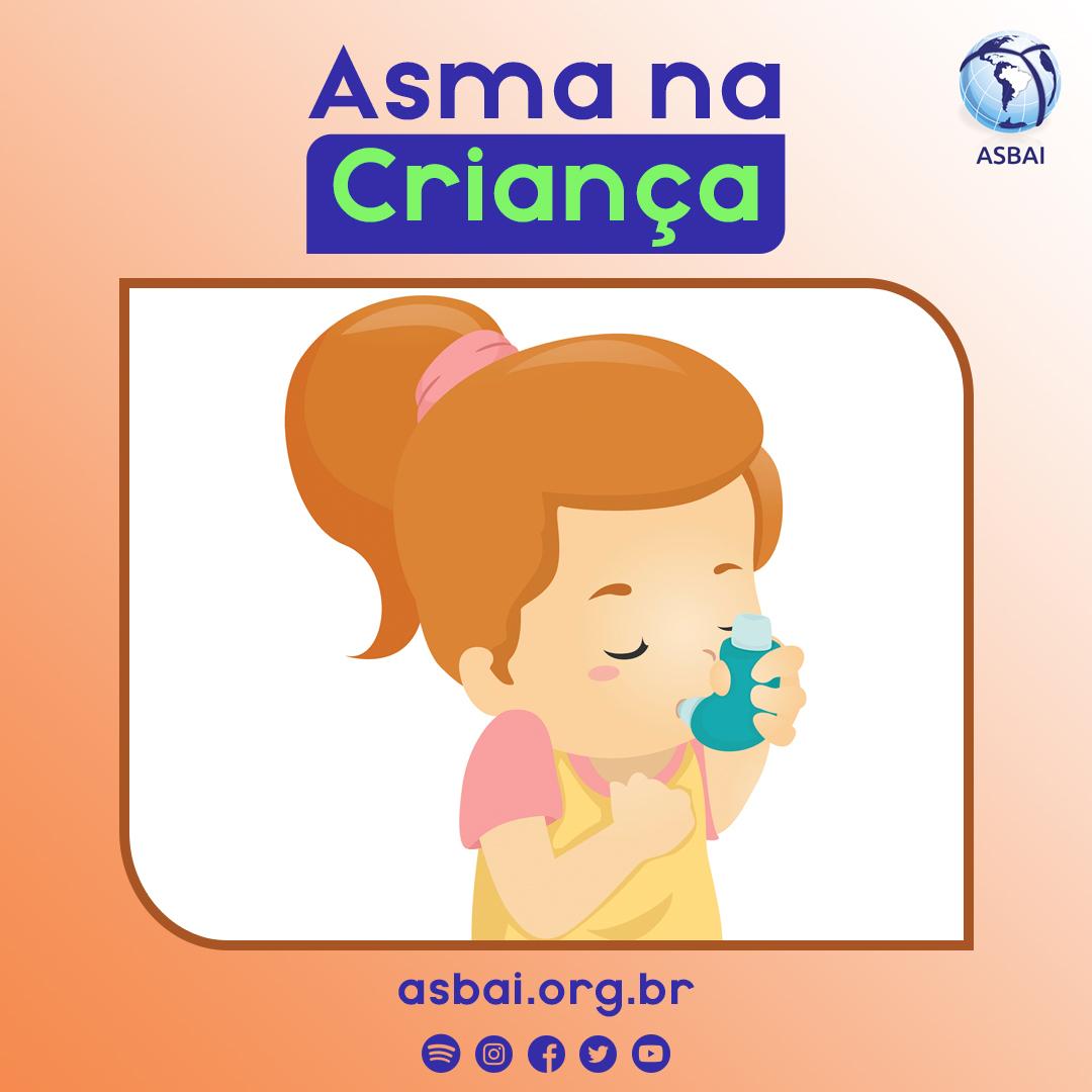 Asma pode se manifestar antes do primeiro ano de vida