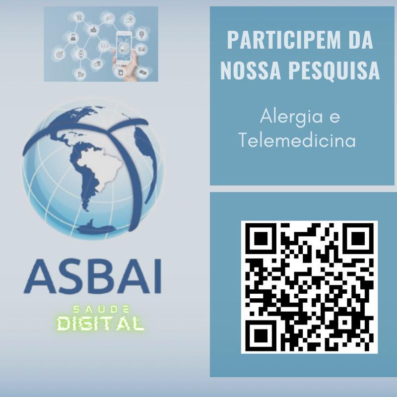 PARTICIPEM DA NOSSA PESQUISA – ALERGIA E TELEMEDICINA