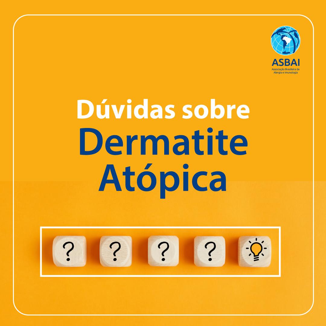 Pijama molhado e cuidados com a pele estão entre as principais dúvidas dos pacientes com dermatite atópica